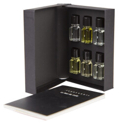 Book + Set of 6 aromas by Jean Lenoir - Le Nez Du Cafe Temptation