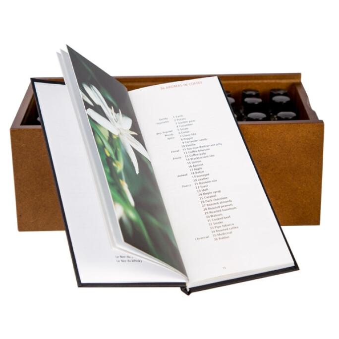 Book + Set of 36 aromas by Jean Lenoir - Le Nez Du Cafe Revelation #4