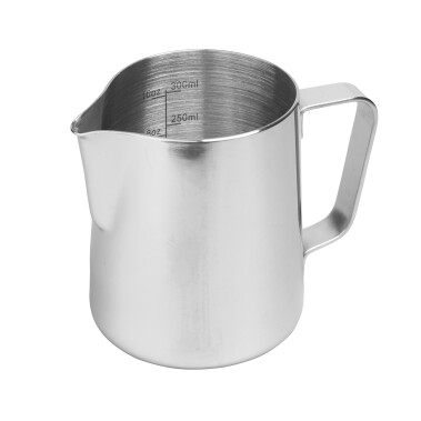 Rhinowares Stainless Steel Pro Pitcher - Silver 360 ml